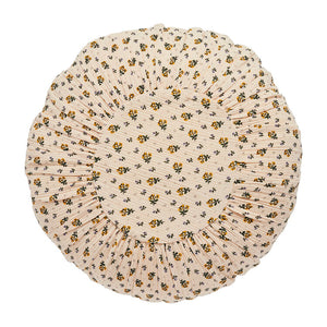 Leinikki double gauze round cushion, peach