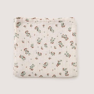 Clover Muslin Swaddle Blanket main