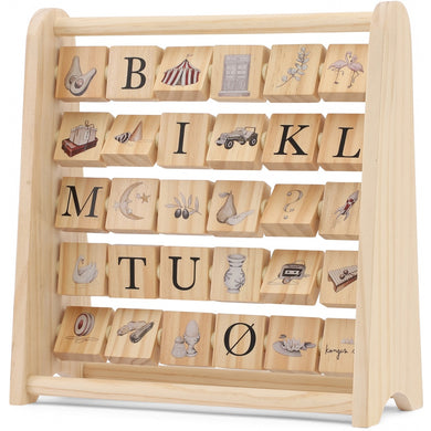 ABC WOODEN BLOCK FRAME /MULTI