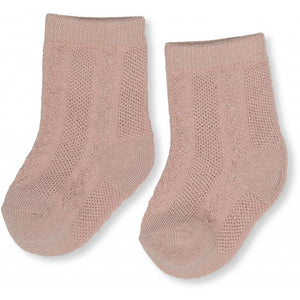 FUMA SOCK POINTELLE DEUX /BLUSH