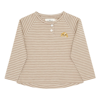 L/S T-Shirt Small Stripes Sienna