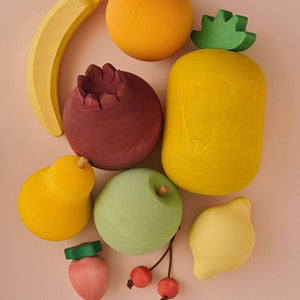 Wooden Fruits