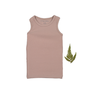 The Ribbed Tank / Mauve