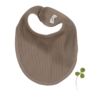 The Ribbed Bib /Taupe