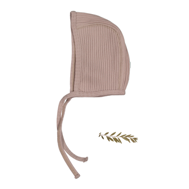 The Ribbed Bonnet /Mauve
