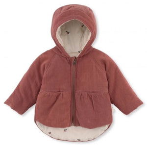 THEA JACKET/CEDAR WOOD/CHERRY