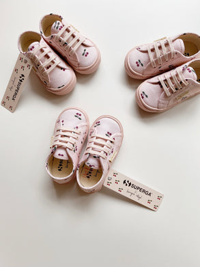 KONGES SLØJD X SUPERGA LACES /CHERRY