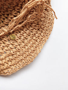 Straw hat - natural
