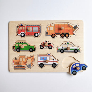 Transport Vehicles Puzzle