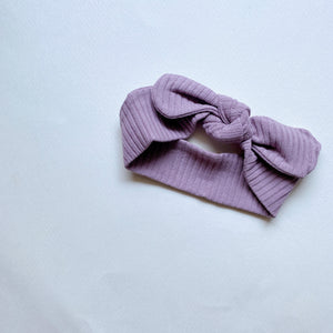 The Ribbed Headband/ Violet