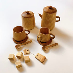 Natural Color Tea Set