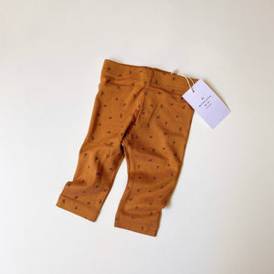 Simple Baby Leggings Tiny Croissant