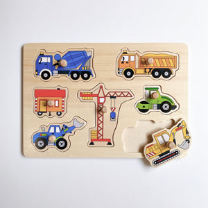 Construction Vehicles Puzzle
