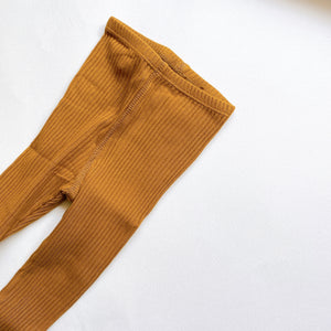 【ラスト1点】The Ribbed Leggings /Cider
