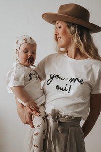 "Tshirt KIDS ""YOU, ME, OUI"""