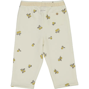 MODESTE PANTS/ QUINCE PRINT/OFF WHITE