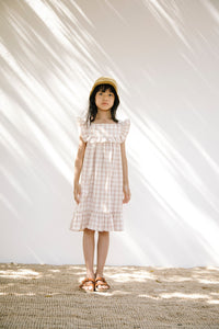 Lina Dress /Rustic Check