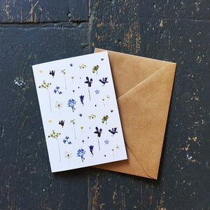 Flower Pattern Card 2