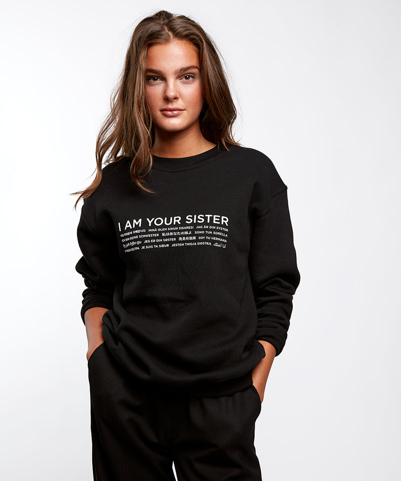 Black Language Sweatshirt