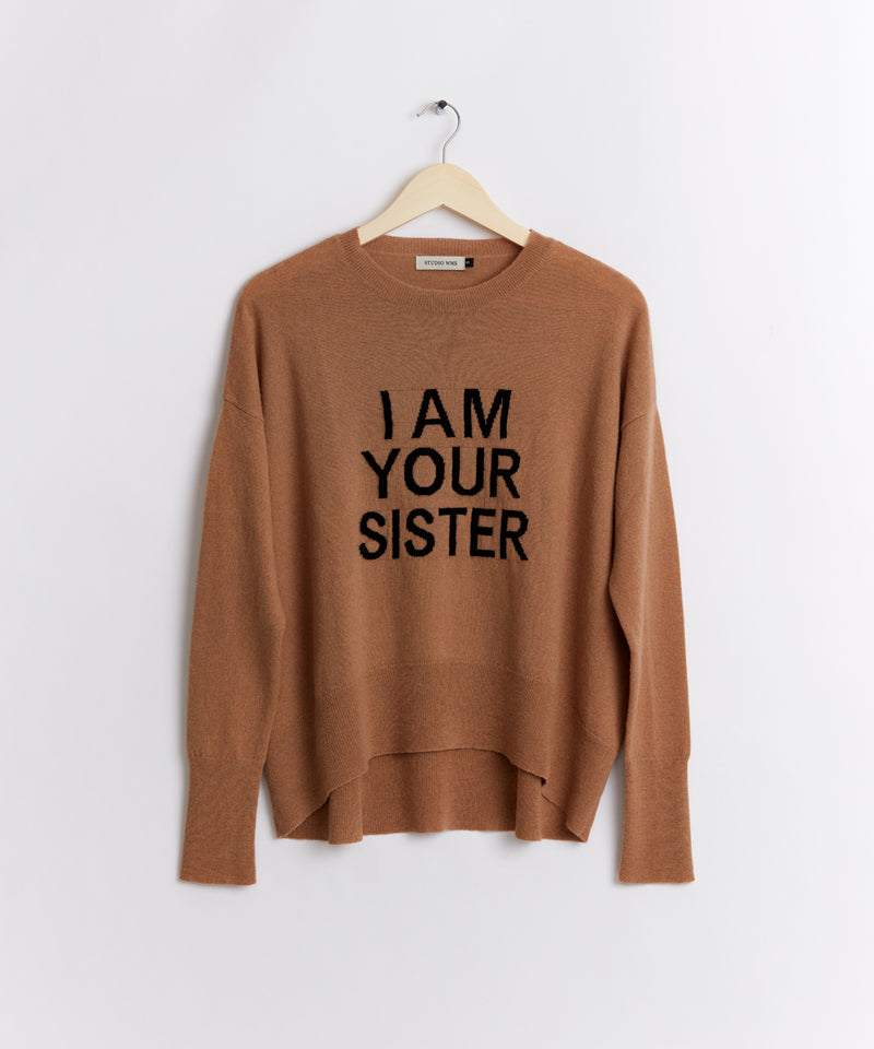 KNITTED SISTER SWEATER