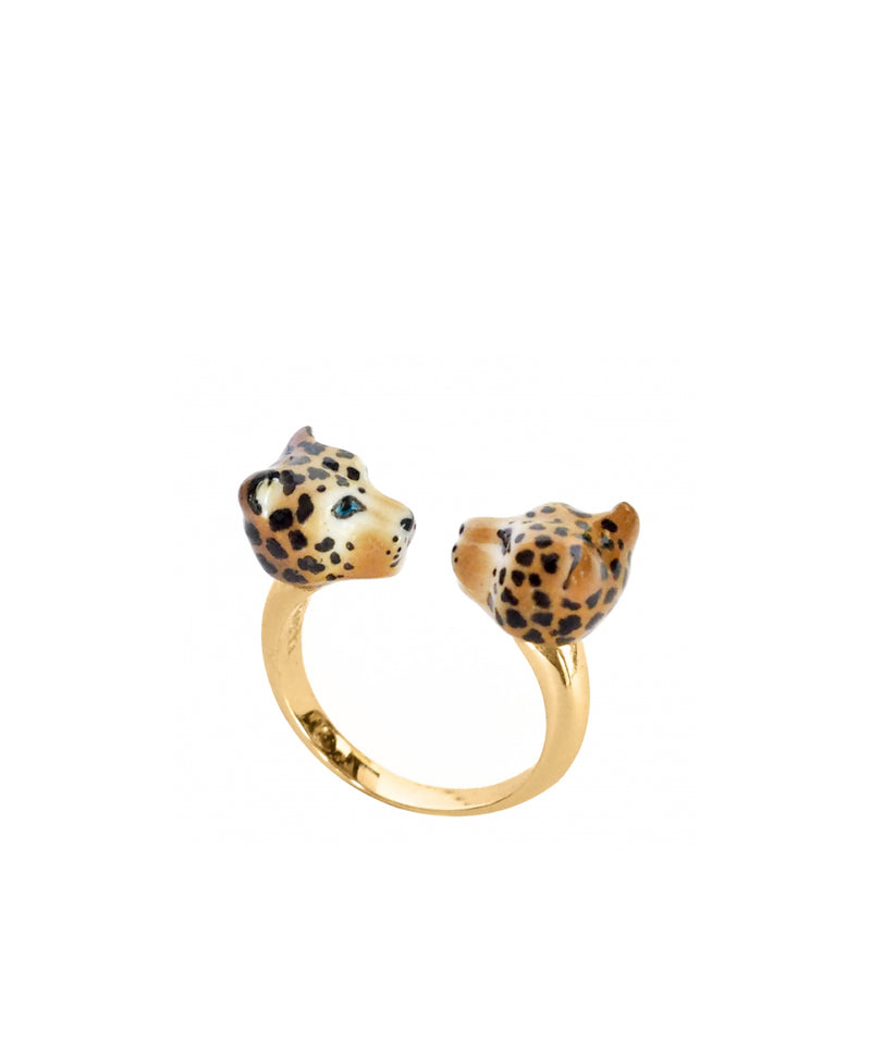 LEOPARD - FACE TO FACE - RING