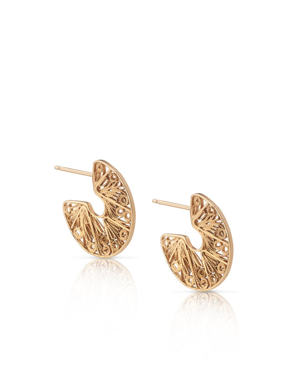 C EARRINGS - SMALL