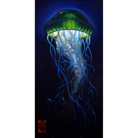 Emerald King Jelly Giclee print - Redeye Laboratories
