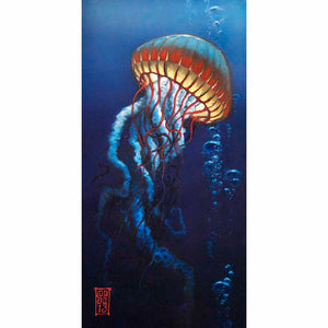 Jelly with Bubbles 2 Giclee print - Redeye Laboratories
