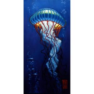 Jelly with Bubbles 1 Giclee print - Redeye Laboratories