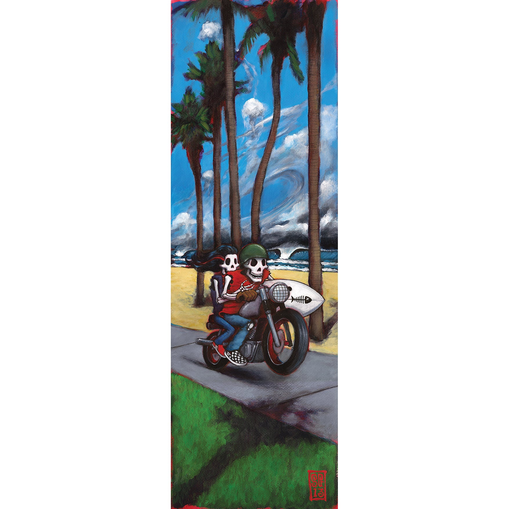 Menace Beach Giclee print - Redeye Laboratories