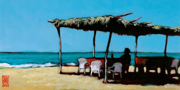 Palapa, Lady, and a Coke Giclee print - Redeye Laboratories
