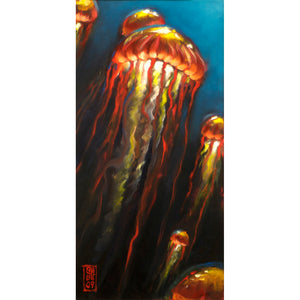 Rise of the Jellies Giclee print - Redeye Laboratories