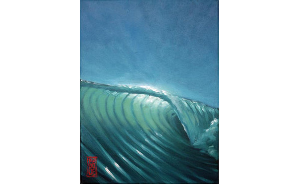 6:59 Sunlit Wave Giclee print - Redeye Laboratories