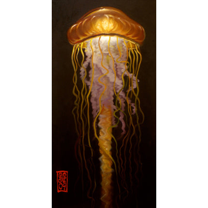 Amber Jelly Giclee print - Redeye Laboratories