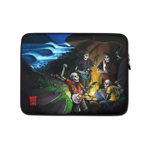 """Play for Surf"" Laptop Sleeve - 15 in"