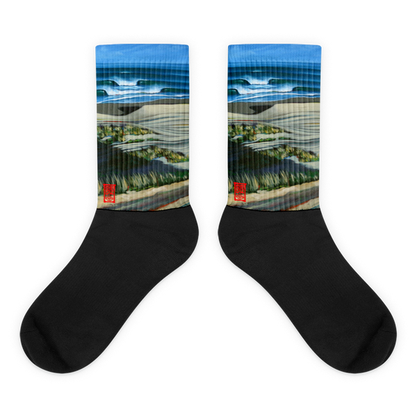 Cold East Winds Black foot socks Socks - Redeye Laboratories