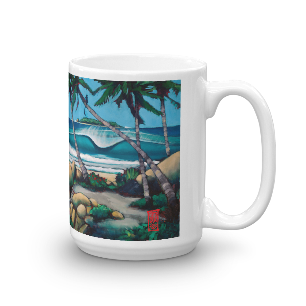 Primal Surf Check Mug  - Redeye Laboratories