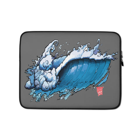 """Cosmic Wave"" Laptop Sleeve"