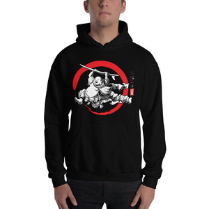 """Surfing Buddha"" Hooded Sweatshirt  - Redeye Laboratories"