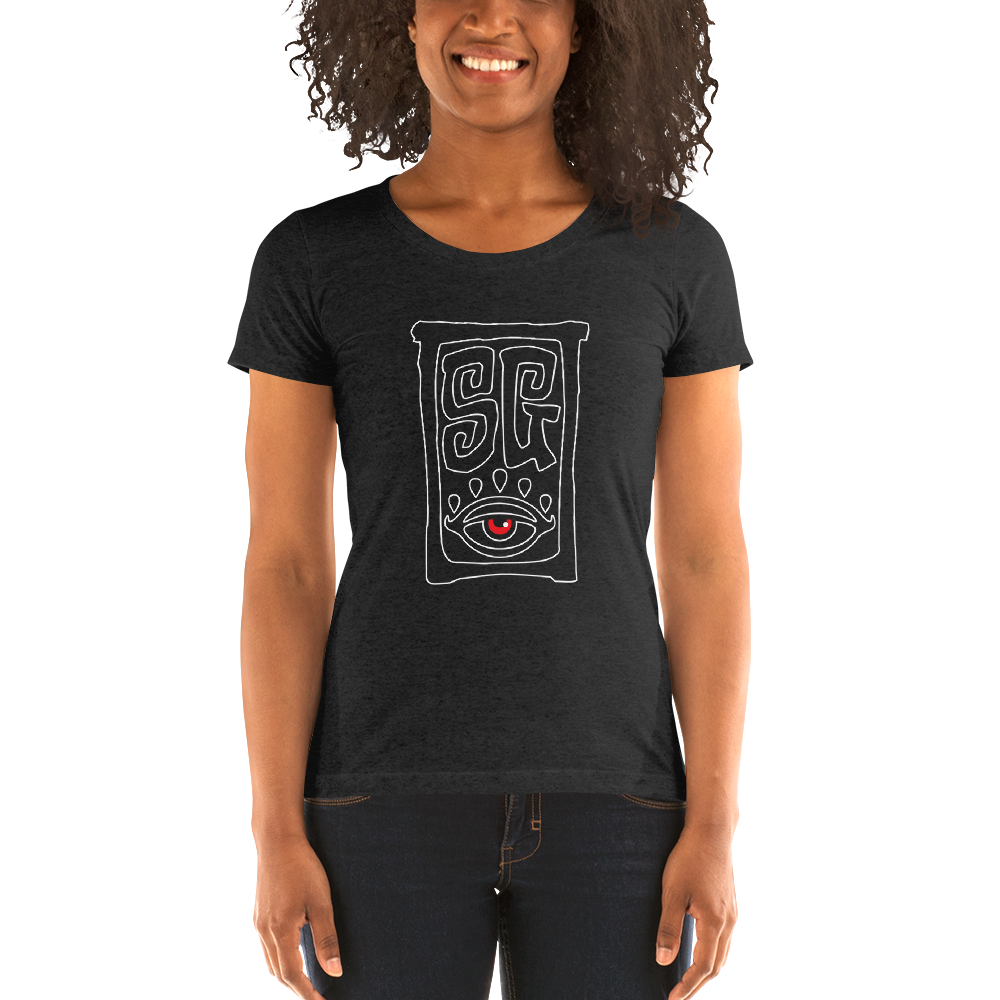 """Ghost SG"" Ladies' short sleeve t-shirt  - Redeye Laboratories"