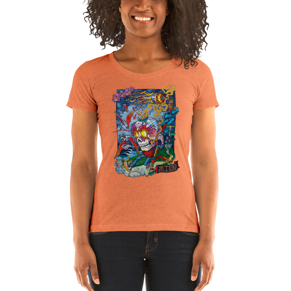 Dreamy Mindful Trail Ladies' short sleeve t-shirt  - Redeye Laboratories