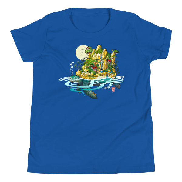 """Sea Turtle"" Youth Short Sleeve T-Shirt"