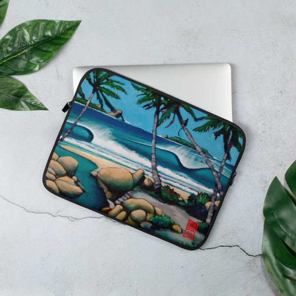 """Primal Surf Check"" Laptop Sleeve  - Redeye Laboratories"