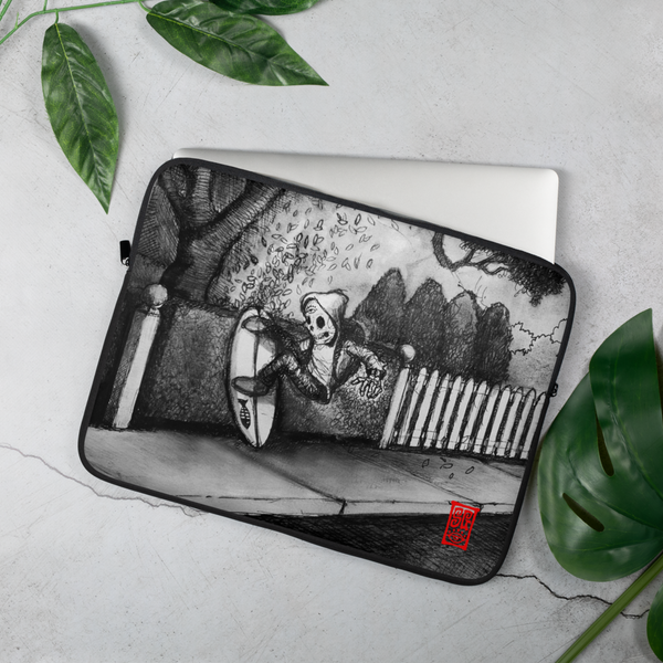 """Hedge Shred"" Laptop Sleeve  - Redeye Laboratories"