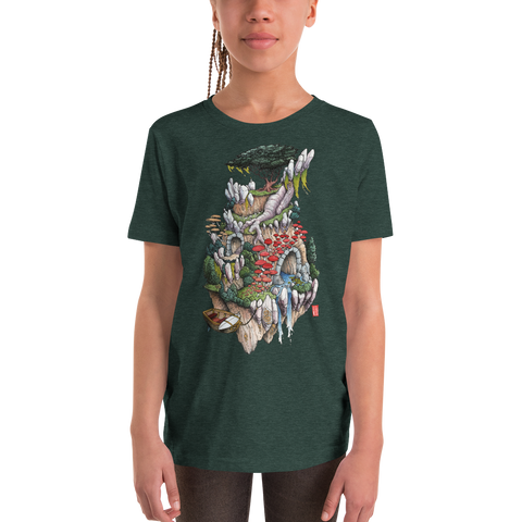 """Cosmic Island"" Youth Short Sleeve T-Shirt  - Redeye Laboratories"