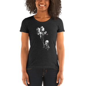 """Balloon Boy"" Ladies' short sleeve t-shirt  - Redeye Laboratories"