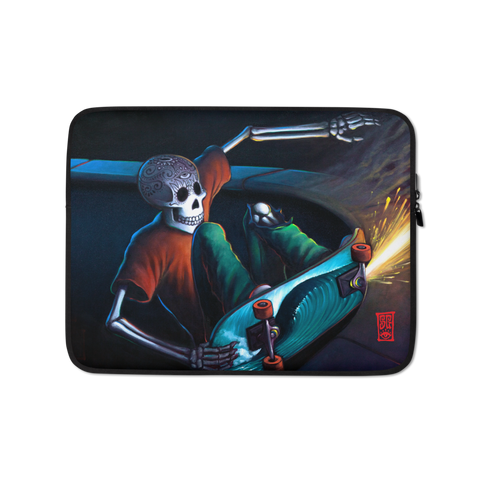 """Moon Grind"" Laptop Sleeve - 15 in"