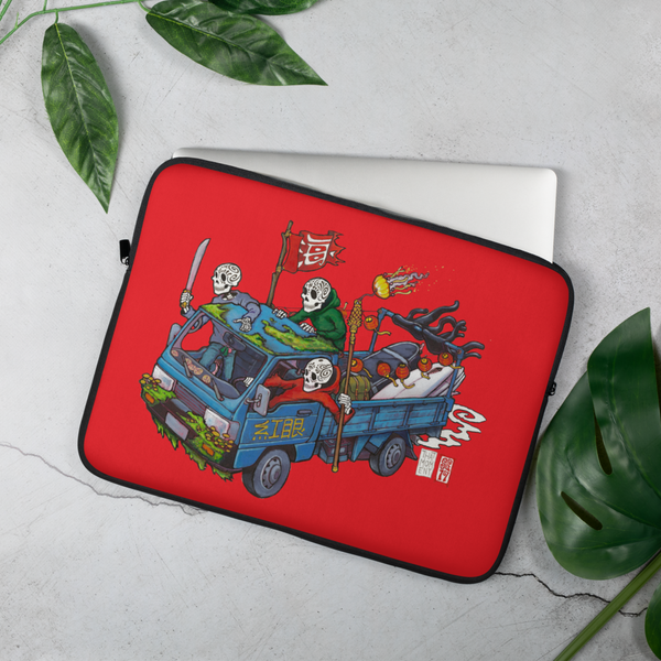 """That Moment"" (red)Laptop Sleeve  - Redeye Laboratories"