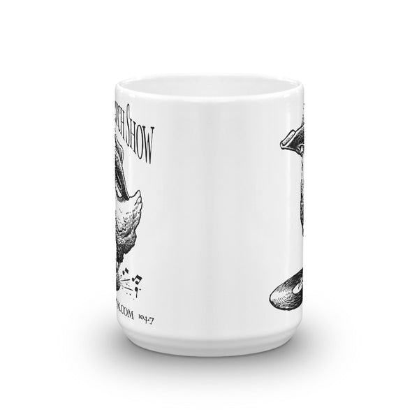 The Chicken Scratch Show KHUM Mug  - Redeye Laboratories