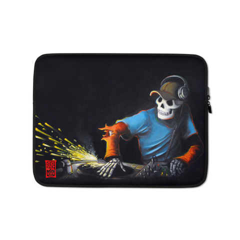 """The DJ"" Laptop Sleeve - 15 in"